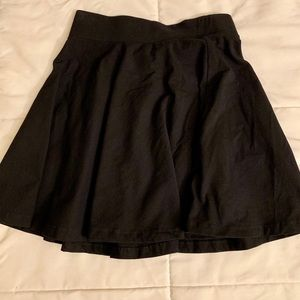 H&M Black Circle Skirt XS